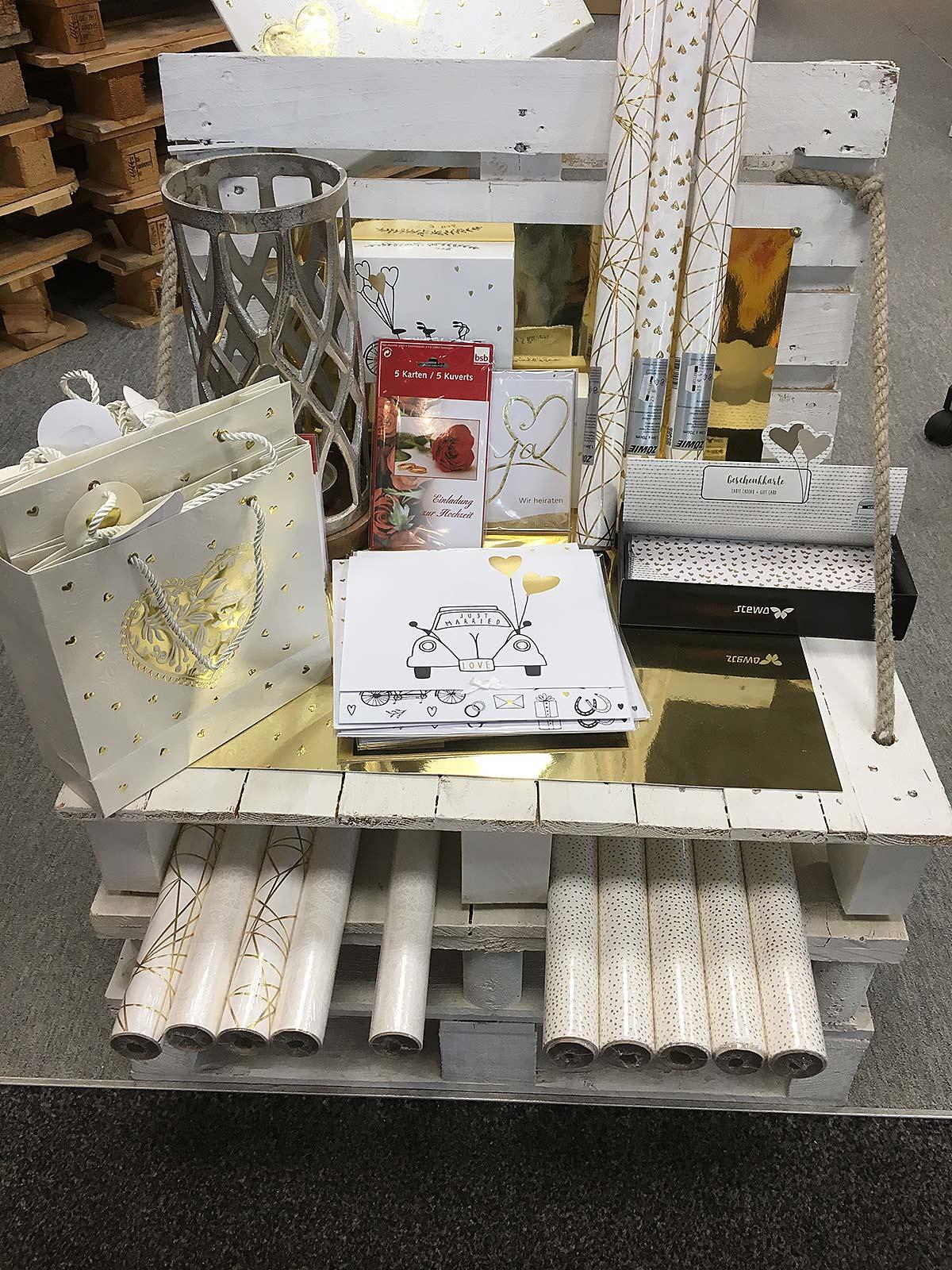 Mueller Geschenke & Geschenkverpackung, Bürobedarf und Papier in Eppingen